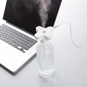 パーソナル加湿器 ボトルキャップタイプウイルス対策 携帯 コンパクト USB 名入れ可|kss-s