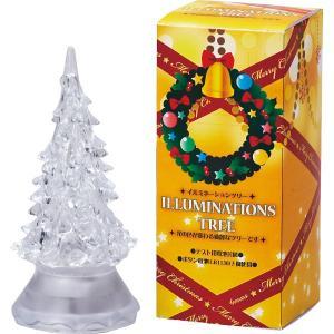 クリスマス 飾り LEDクリスマスツリー(7色光) LEDライト /SW-1015|kss-s