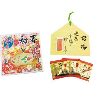 迎春用 梅昆布茶「初春」(金箔入・おみくじ付) 亥 年賀|kss-s
