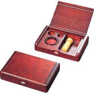 木製印鑑ケース高級感 ハンコ入れ kss-s