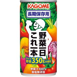 防災 非常食カゴメ 野菜一日これ一本長期保存用(30缶)缶 野菜ジュース|kss-s