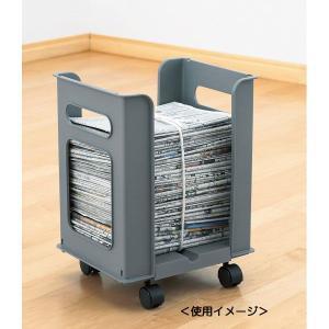 新聞入れ ラック整理収納|kss-s