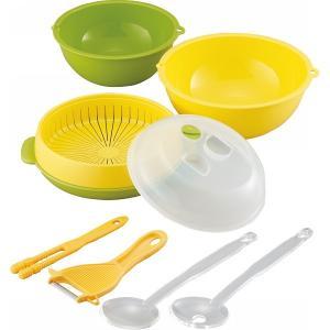 スチーマー 皮むき 簡単レンジと便利グッズ6点セット調理器具 キッチン用品|kss-s