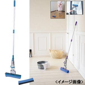 拭き掃除 スーパーモップ(替えモップ付)日用雑貨|kss-s