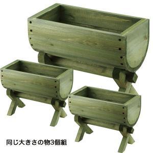 木製プランター3個組ガーデニング 園芸|kss-s