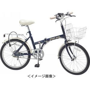 自転車 20型折りたたみ (ライト&カギ付)スポーツ アウトドア|kss-s