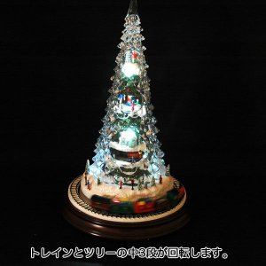 クリスマス ツリー オルゴール プレゼント 雑貨LED付オルゴール|kss-s