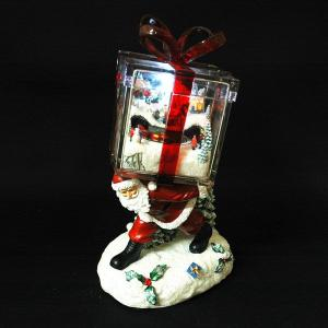 クリスマス プレゼント 雑貨 LED付オルゴール GIFT BOX ギフトボックス|kss-s
