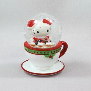 スノードームハローキティ45mmドーム(カップ)クリスマス 置物 キャラクター|kss-s