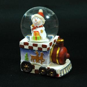 クリスマス 雑貨 飾り オブジェ スノーマントレイン45mm B|kss-s
