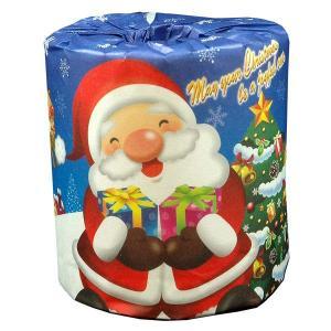 プチギフト トイレットペーパー 販売促進 クリスマス サンタ 1R