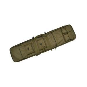 改良版 2段収納 ダブル ガンケース ライフルケース 120cm ソフトケース エアガンケース 電動ガンケース オリーブドラブ OD 緑色 kstacticalshop