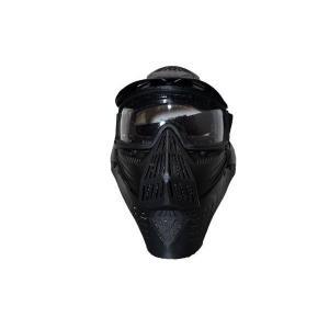 全防護ゴーグル レンズタイプ フルフェイスガード プロゴーグル 黒|kstacticalshop