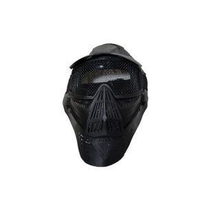 全防護ゴーグル メッシュタイプ フルフェイスガード プロゴーグル 黒|kstacticalshop