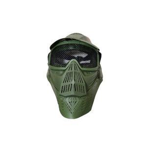 全防護ゴーグル メッシュタイプ フルフェイスガード プロゴーグル 緑 オリーブドラブ OD|kstacticalshop