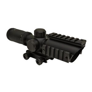 ショート CQB ライフルスコープ スナイパー ズームスコープ 1.5-5倍 X32 サイドレイル付き|kstacticalshop