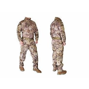 EMERSON製 Riotスタイル コンバット迷彩服 上下セット Highlander ハイランダータイプ迷彩柄|kstacticalshop