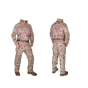 EMERSON製 Riotスタイル コンバット迷彩服 上下セット AOR1 SEALsタイプ迷彩柄|kstacticalshop