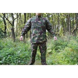 イギリス軍 (英国軍) ブラッシュパターン ウッドランド系 迷彩服 戦闘服 上下セット|kstacticalshop