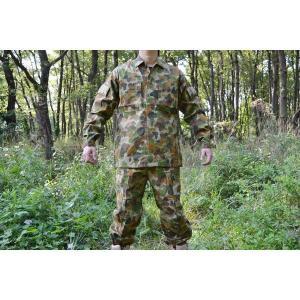 オーストラリア軍 DPCU迷彩柄 迷彩服 戦闘服 上下セット AUSCAMパターン|kstacticalshop