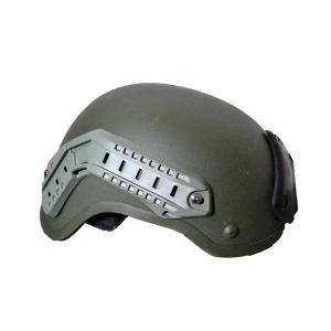 MICH2001 ヘルメット 緑色 PASGT タクティカルヘルメット ミッチヘルメット アクセサリーレール付き OD オリーブドラブ kstacticalshop