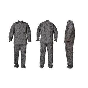 夜間迷彩 グレータイガーストライプ 迷彩柄 BDU 迷彩服 パンツ&ジャケット 上下セット 戦闘服|kstacticalshop