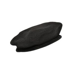 SW製 G.I.スタイル ウール生地 ベレー帽 帽子 ブラック 黒 黒色|kstacticalshop