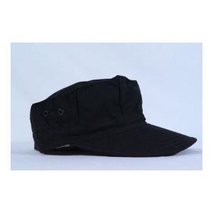 SWAT 特殊火器戦術部隊 ブラック 迷彩柄 八角帽 ミリタリーキャップ 黒色|kstacticalshop