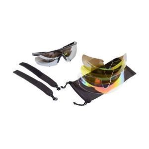Ds3タイプ シューティンググラス レンズ4枚付き 黒 ブラック フォグテック シートタイプ1枚付き kstacticalshop