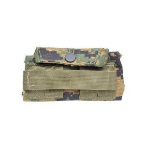 EMERSON製 (エマーソン) アメリカ軍 MOLLEシステム 止血帯ポーチ ピクセルグリーン デジタルウッドランド|kstacticalshop