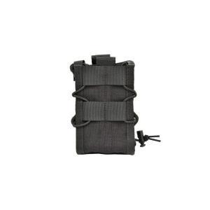 EMERSON製 (エマーソン) ダブルデッカー ライフルマグポーチ M4 M16 SCAR-H対応 黒 黒色|kstacticalshop