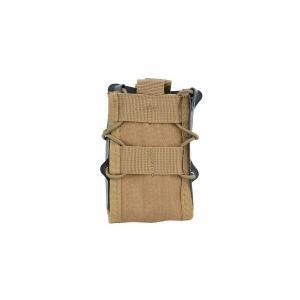 EMERSON製 (エマーソン) ダブルデッカー ライフルマグポーチ M4 M16 SCAR-H対応 タンカラー|kstacticalshop