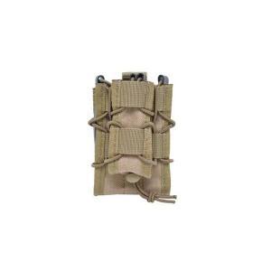 EMERSON製 (エマーソン) ダブルデッカーマグポーチ M4 M16 SCAR-H対応 カーキ|kstacticalshop
