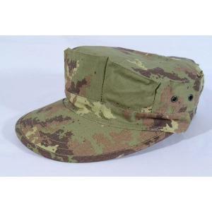 イタリア軍 イタリアンフレック ウッドランド 迷彩柄 八角帽 ミリタリーキャップ|kstacticalshop