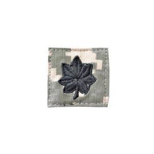 アメリカ陸軍 階級章 中佐 ベルクロ付き ワッペン パッチ 徽章 ACU迷彩 UCPパターン kstacticalshop