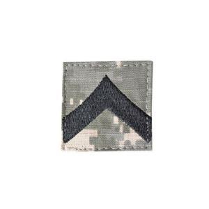 アメリカ陸軍 階級章 階級不明 ベルクロ付き ワッペン パッチ 徽章 ACU迷彩 UCPパターン kstacticalshop