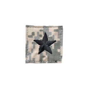 アメリカ陸軍 階級章 准将 ベルクロ付き ワッペン パッチ 徽章 ACU迷彩 UCPパターン kstacticalshop