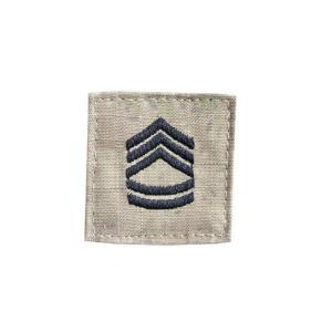 アメリカ陸軍 階級章 一等軍曹 ベルクロ付き ワッペン パッチ 徽章 ATAU kstacticalshop