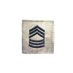 アメリカ陸軍 階級章 曹長 ベルクロ付き ワッペン パッチ 徽章 ATAU kstacticalshop