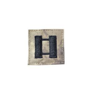 アメリカ陸軍 階級章 大尉 中隊長クラス ベルクロ付き ワッペン パッチ 徽章 ATAU kstacticalshop