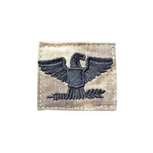 アメリカ陸軍 階級章 大佐 旅団長クラス ベルクロ付き ワッペン パッチ 徽章 ATAU kstacticalshop