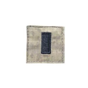 アメリカ陸軍 階級章 中尉 小隊長クラス ベルクロ付き ワッペン パッチ 徽章 ATAU kstacticalshop