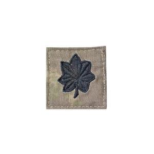 アメリカ陸軍 階級章 中佐 大隊長クラス ベルクロ付き ワッペン パッチ 徽章 ATAU kstacticalshop