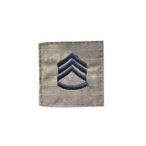 アメリカ陸軍 階級章 二等軍曹 ベルクロ付き ワッペン パッチ 徽章 ATAU kstacticalshop