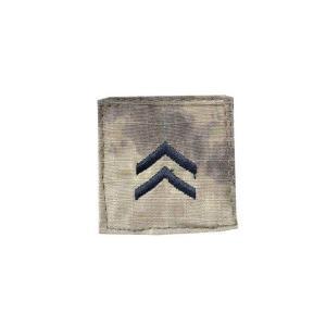アメリカ陸軍 階級章 一等兵 ベルクロ付き ワッペン パッチ 徽章 ATAU kstacticalshop