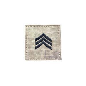 アメリカ陸軍 階級章 伍長 ベルクロ付き ワッペン パッチ 徽章 ATAU kstacticalshop