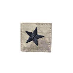 アメリカ陸軍 階級章 准将 ベルクロ付き ワッペン パッチ 徽章 ATAU kstacticalshop