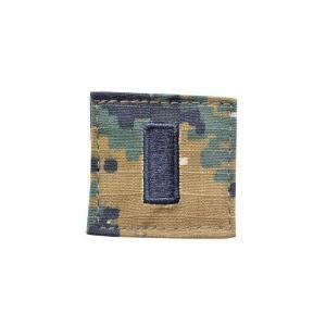 アメリカ陸軍 階級章 中尉 小隊長クラス ベルクロ付き ワッペン パッチ 徽章 ピクセルグリーン デジタルウッドランド|kstacticalshop