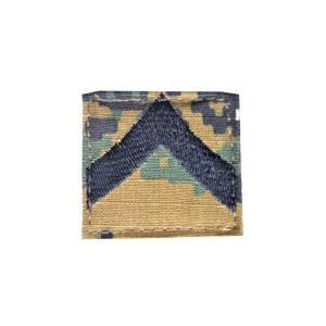 アメリカ陸軍 階級章 階級不明 ベルクロ付き ワッペン パッチ 徽章 ピクセルグリーン デジタルウッドランド|kstacticalshop