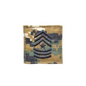 アメリカ陸軍 階級章 上級曹長 ベルクロ付き ワッペン パッチ 徽章 ピクセルグリーン デジタルウッドランド|kstacticalshop